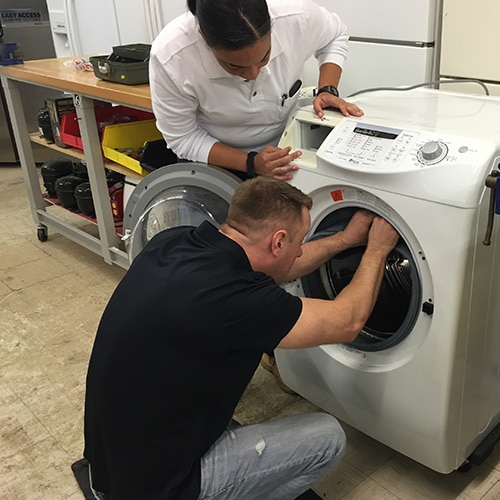 front load washer repair training