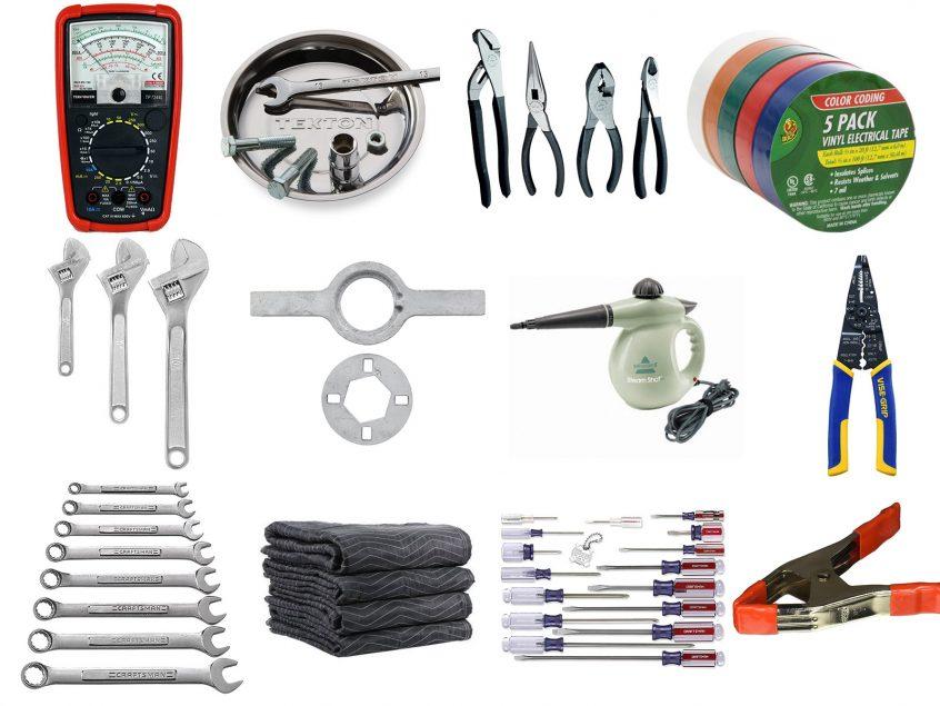appliance repair tool box