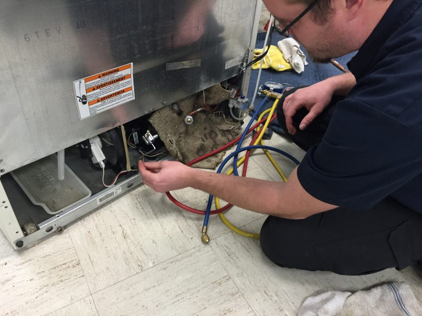 Peachy One Week Refrigerator Training Freds Appliance Academy Wiring 101 Tzicihahutechinfo
