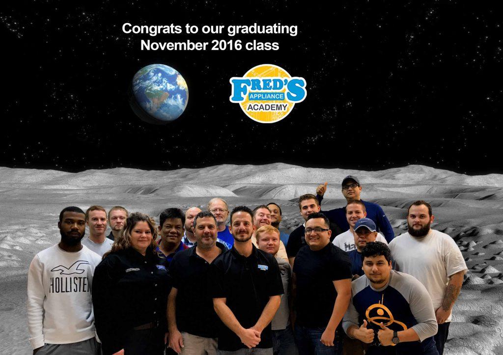 Congrats to our graduating November 2016 class!