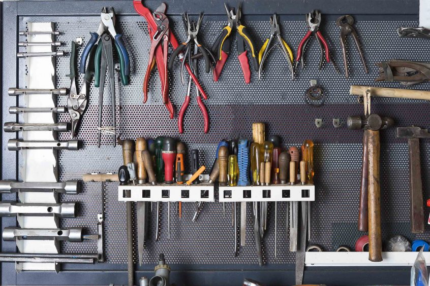 Take The Proper Safety Precautions When Working With Tools