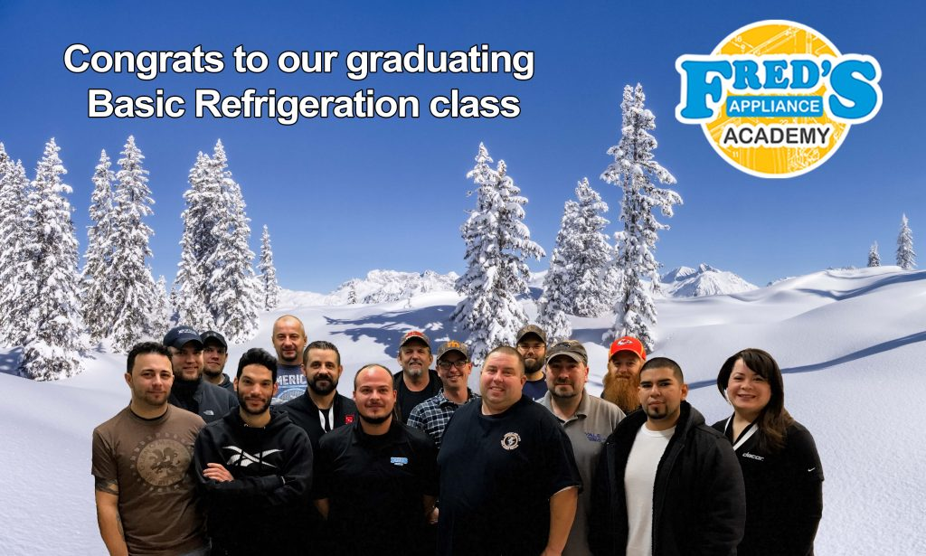 Congrats to our graduating Basic Refrigeration class