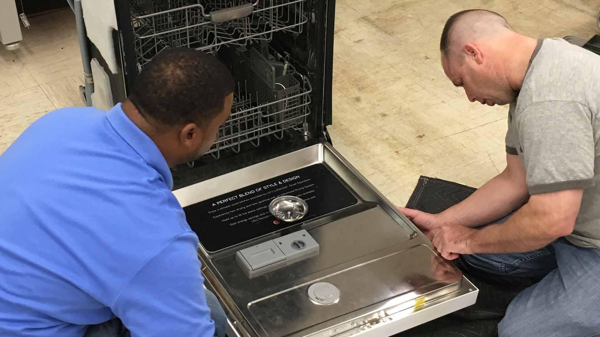 dishwasher training