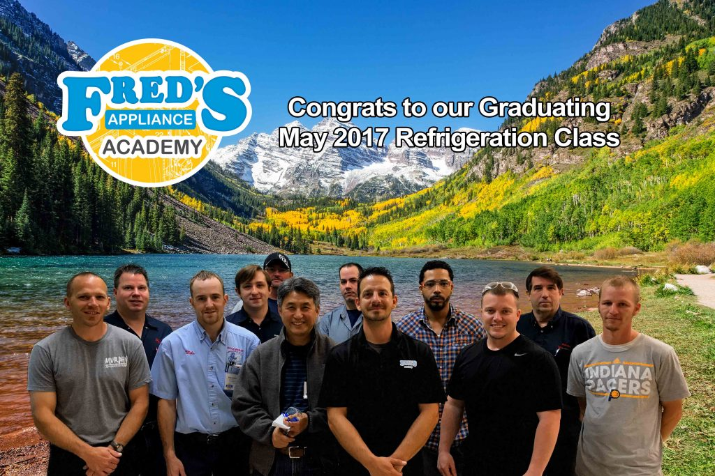 Congrats to our May 2017 – One Week Refrigeration Class