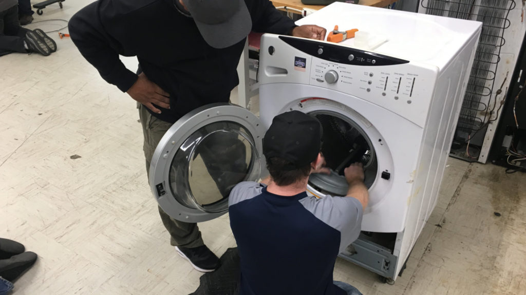 Learning Appliance Repair as a Trade Over Going to College