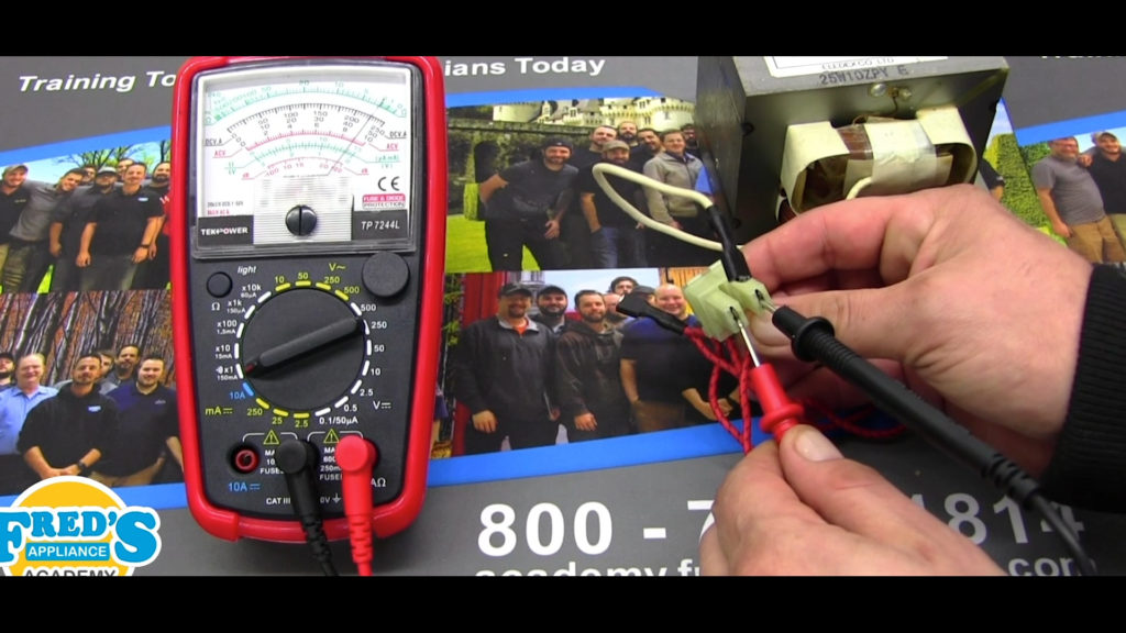 How to Test a High-Voltage Transformer from a Microwave