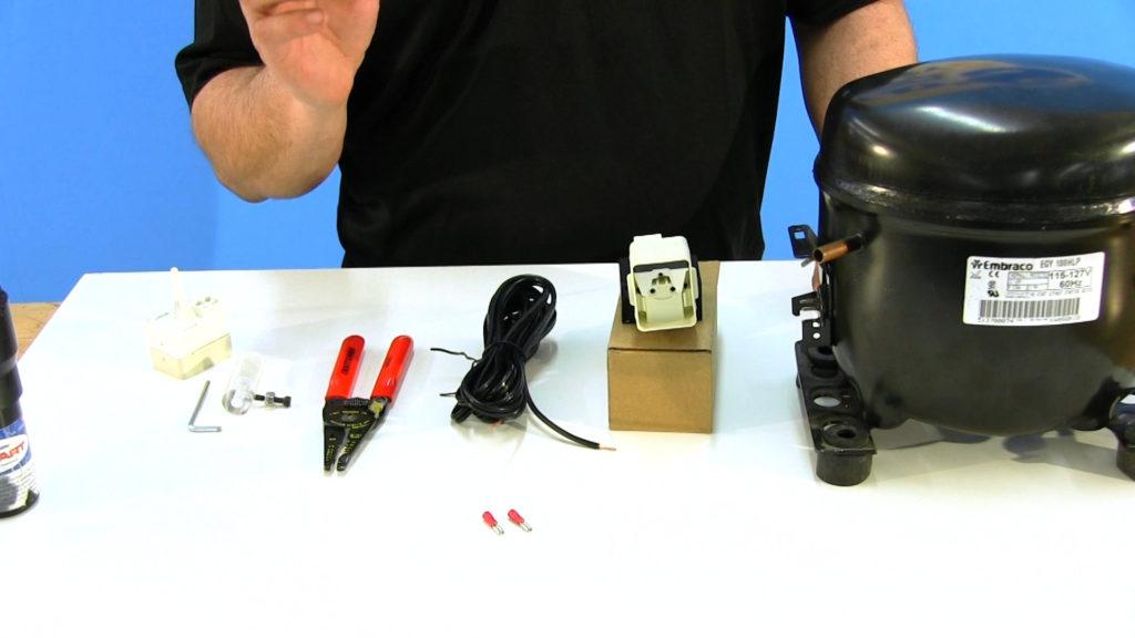 How to Assemble a Refrigerator Split Phase Compressor Tester for Repair Diagnostics
